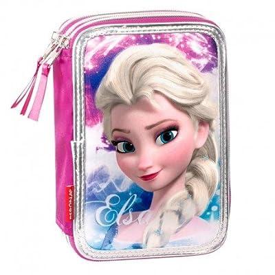 Disney Frozen- Plumier Triple (Montichelvo 53779) por Montichelvo