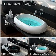 Amazon.it: lavabo bagno appoggio nero - 4 stelle e più
