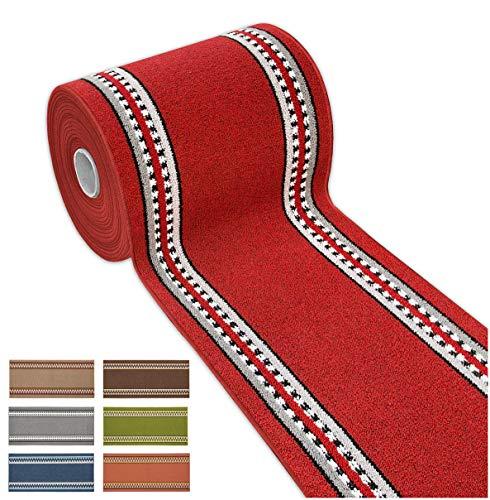 Arrediamoinsieme-nelweb tappeto cucina tessitura piatta retro antiscivolo multiuso corsia corridoio bagno camera mod.alexa 57x270 grigio