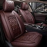 Housse siege voiture Couvertures de siège de voiture Ensemble complet cuir étanche...