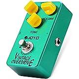 INLIFE Accordeur Chromatique Pédale d'effet de guitare Vintage Overdrive avec puce RC4588