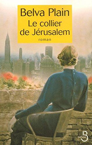 Le collier de Jerusalem par Belva PLAIN
