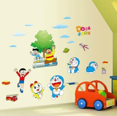 Asmi collection Doraemon Nobita Cartoon Wall Stickers