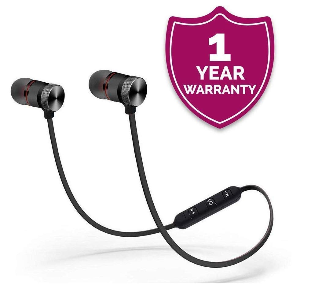 - 51dM5Xur5TL - Lambent Wireless Bluetooth Headphones with Magnetic Earbuds for All Latest Smartphones