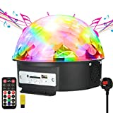 Disco Lights , JELEGAN LED Stage Light Crystal Magic Ball Lamp MP3 Player
