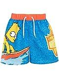 I Simpson - Pantaloncini da Bagno Ragazzi - Bart Simpson - 11 - 12 Anni