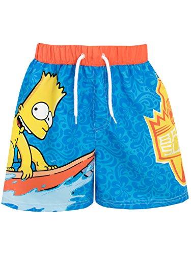Simpsons - Bañador para niño - Bart Simpson - 9-10 Años