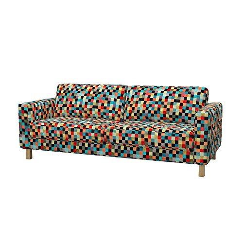 Soferia - IKEA KARLSTAD Funda para sofá Cama de 3 plazas, Mozaik...