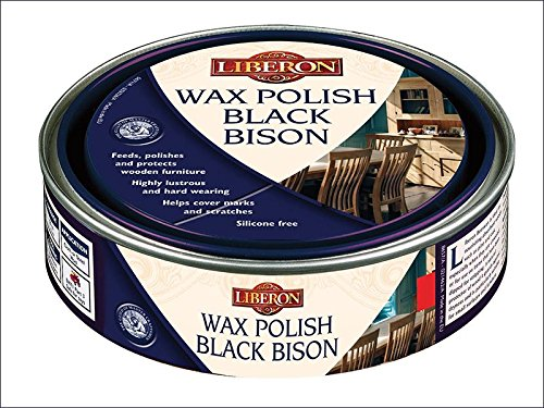 Liberon bbpwap500 500 ml cire polonais Bison Pin antique - Noir