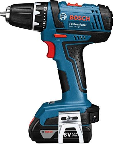 Bosch Akku und Bohrschrauber, +GSR 18-2-LI Akku-Bohrschr. Solo Ka