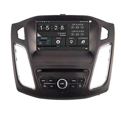 witson® Auto DVD GPS Navigation Radio Navi SAT Haupteinheit für Ford Focus 2012 Unterstützung SD/USB/iPod/iPhone/3G/Video/DVR/Back Up Kamera/Bluetooth für Hands-Free/Lenkradfernbedienung Dvr Ipod