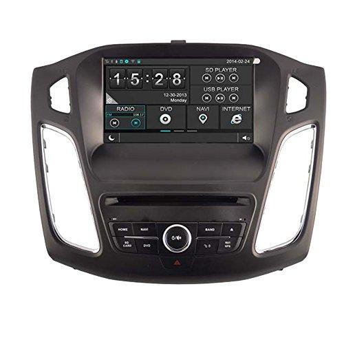 witson® Auto DVD GPS Navigation Radio Navi SAT Haupteinheit für Ford Focus 2012Unterstützung SD/USB/iPod/iPhone/3G/Video/DVR/Back Up Kamera/Bluetooth für Hands-Free/Lenkradfernbedienung -
