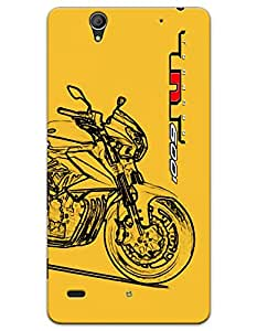 Sony Xperia C4 Cases & Covers - Benelli TNT 600i Case by myPhoneMate - Designer Printed Hard Matte Case - Protects from Scratch and Bumps & Drops.