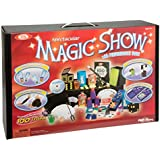 POOF-Slinky 0C4769 Ideal 100-Trick Spectacular Magic Show Suitcase with Instructional DVD by Ideal TOY (English Manual)