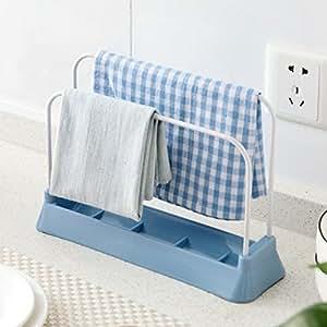 Vepson Towel Hanging Holder Dish Chopping Board Sponge Shelf RackVepson