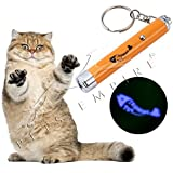 Pets Empire Interactive Exercise Led Training Funny Cat Play Toy Pointer Pen Interaction Toy Tool For Pet Dog (Fish Shaped) 1 Piece