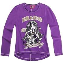Monster High - T-Shirt à manches longues -  Garçon -  Violet - Purple - Purple - 10 ans