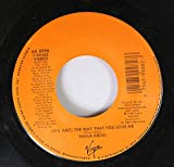 Paula Abdul 45 RPM (IT'S JUST) THE WAY THAT YOU LOVE ME / (IT'S JUST) THE WAY THAT YOU LOVE ME
