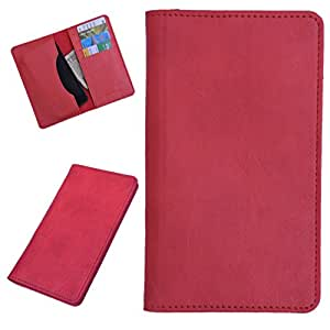 DCR Pu Leather case cover for Blackberry Curve 9360 (red)