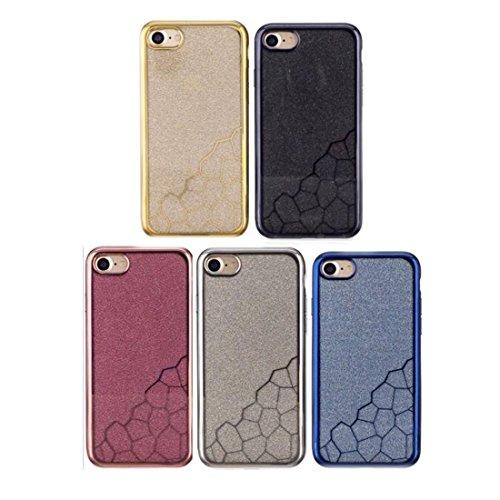 Wkae Galvanisieren Der Kleinen Wurfel TPU Schutzender Ruckseitiger Abdeckungs Fall Fur IPhone 7 Color
