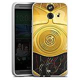 HTC One E8 Silikon Hülle Case Schutzhülle Star Wars