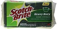 Scotch-Brite Heavy Duty Scrub Sponge 9-Count