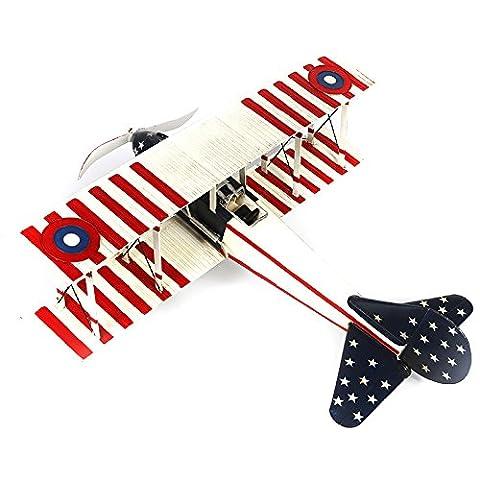 XIe (couleur en métal avion biplan Fighter modèle RC Airplane fenêtre Décoration Artisanat (102* * * * * * * * * * * * * * * * 46cm 104)