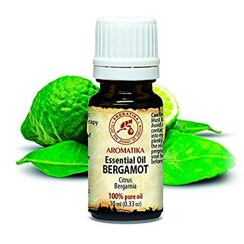 Bergamotte Ätherisches Öl 10ml - Citrus Bergamia - Italien - 100% Reine und Natürliches - Bergamotteöl für Aromatherapie - Sauna - Aromatisches Bad - Raumduft - der Duftlampe