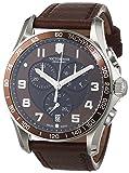 Victorinox 241653 - Reloj, Correa de Cuero Color marrón
