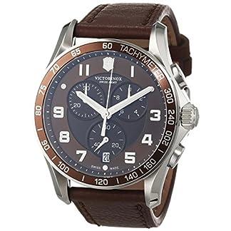 Victorinox 241653 – Reloj, Correa de Cuero Color marrón