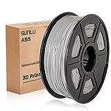 SUNLU 3D Printer Filament ABS, 1.75mm ABS 3D Printer Filament, 3D Printing Filament ABS for 3D...