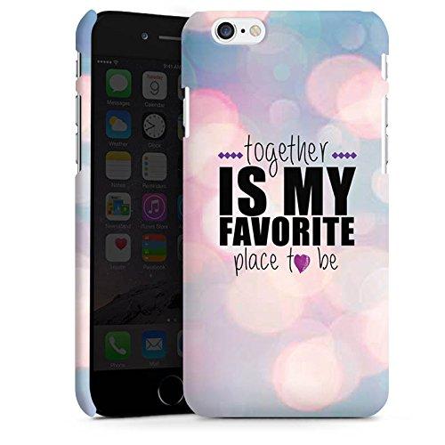 Apple iPhone X Silikon Hülle Case Schutzhülle Liebe Freundschaft Statement Premium Case matt