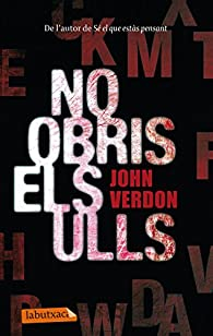 No obris els ulls par John Verdon