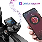 Transmetteur FM Bluetooth pour Voiture avec Ainope V4.2, Adaptateur Radio sans Fil QC3.0 - Best Reviews Guide
