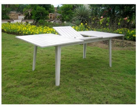 Tavolo da Giardino Allungabile Rettangolare 160/210x100 Art 62 Ascot