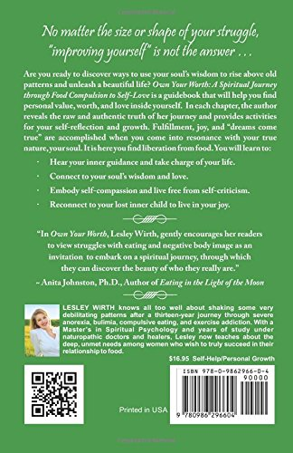 Own Your Worth: A Spiritual Journey Through Food Compulsion to Self-Love