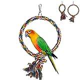 XMTPF Papageienkäfig-Spielzeug für Sittiche