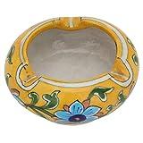 #10: PAPA KI PARI Ceramic Ashtray With Blue Pottery