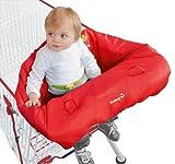 Safety 1st Einkaufswagenschutz - Polster für Hochstuhl, playtime