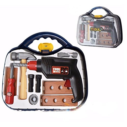 childs-10pc-tool-play-set-carry-case-diy-play-tools-drill-hammer-nuts-screwdriver