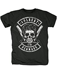 Volbeat Victorious Camiseta Blanco qkD42psla