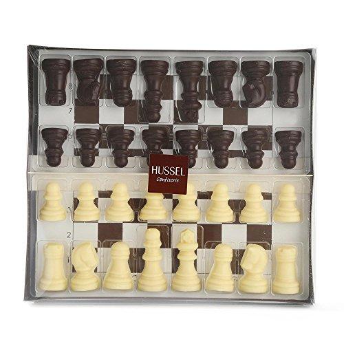 Hussel Schachspiel aus Schokolade 150g