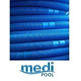 Medipool Tuyau 30 m de Tuyau d'aspiration pour Piscine/Bassin de 30 m par pièce, Divisible Tous 1,5 m