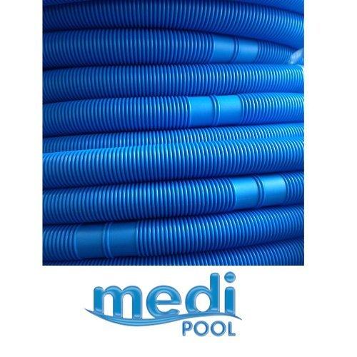 Medipool Pool Schlauch Schwimmbad Teich 30 m Saugschlauch 30 Meter am Stück, alle 1,5 Meter teilbar