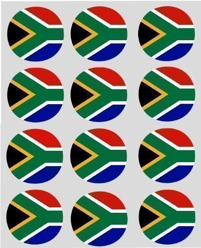 12-south-african-flag-rice-paper-fairy-cupcake-40mm-toppers-pre-cut-cake-decoration