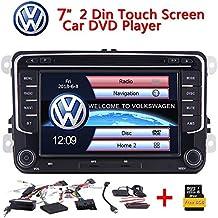 ... Radio RDS GPS Navi Bluetooth t¨¢ctil capacitiva de la Pantalla del Espejo Enlace al iPhone Android para Volkswagen Golf Skoda Passat VW Polo Jetta Sagi