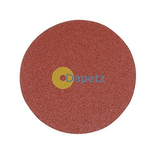 Daptez® Dischi abrasivi 125mm 10pk grana 60Hook & Loop in ossido di alluminio Levigatrice Lucidatrici