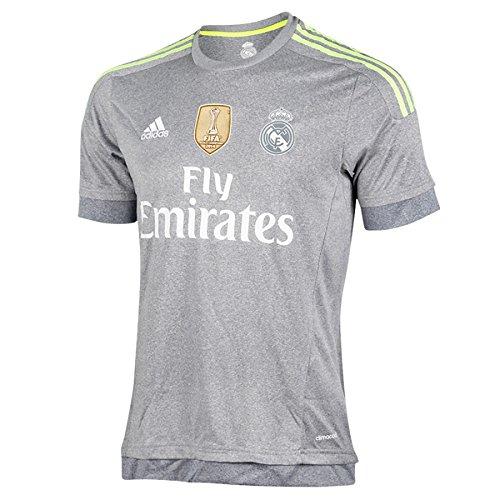 Real Madrid Maillot 2ème équipement FC 2015/2016 Adidas-Maillot officiel L Gris / Lima