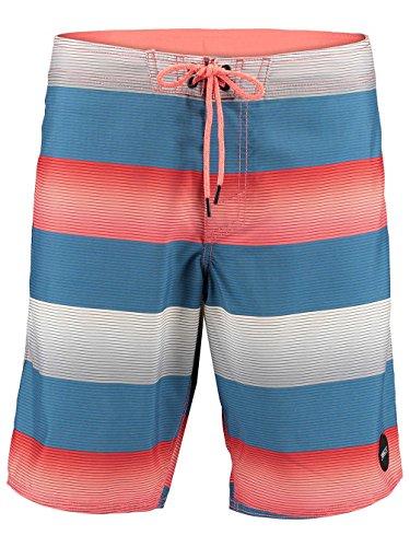 O'Neill Herren Santa Cruz Stripe Boardshorts blau (296)