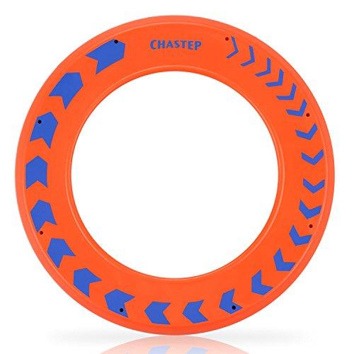 Frisbee Wurfspiel Ring Wurfring präziser Flug soft Saucer Garten Spiel Spielzeug Summer Ausflug Weiches ideal Outdoor Familie Spaß (Orange) (Frisbees In Der Masse)